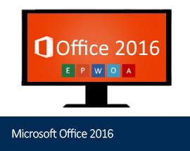 Microsoft Office 2016 Range